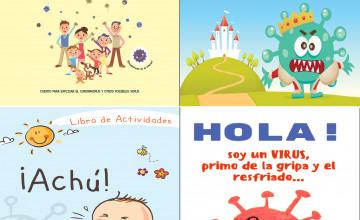 Libros de cuentos y actividades infantiles